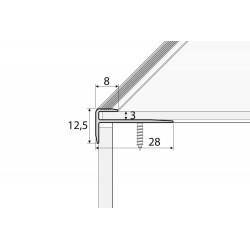 C 23 Aluminium F - shape...